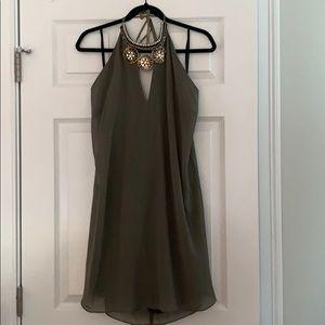 NEVER WORN open back halter dress